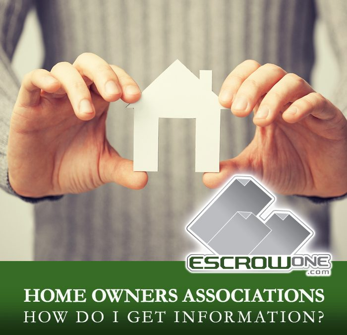 Home Owner Associations – How do I get information for the Association?