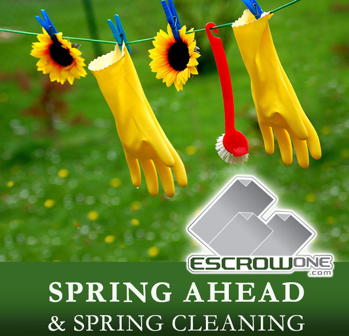 Spring Ahead & Spring Cleaning