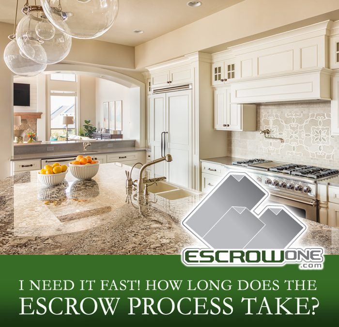 How Long does the Escrow Process Take?